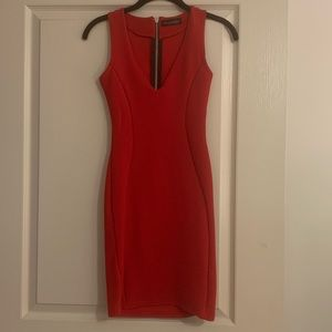 Misguided Red Dress